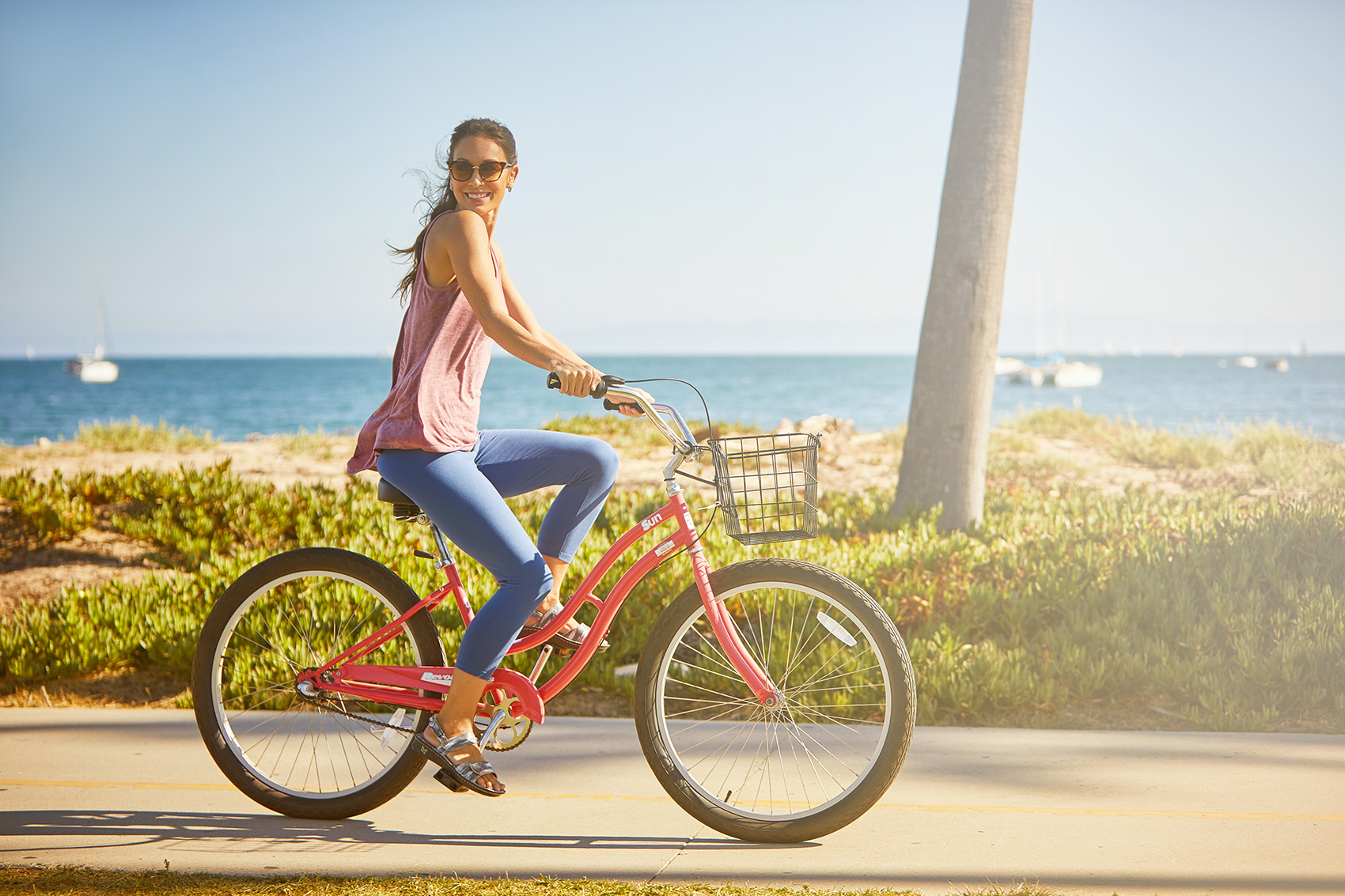 Bike ride near the Beach for Alegria Shoes Lifestyle Santa Barbara