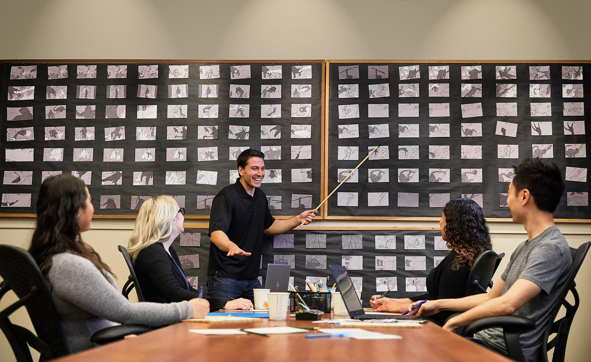 Lifestyle Photographer: Dreamworks Animation Storyboard Meeting