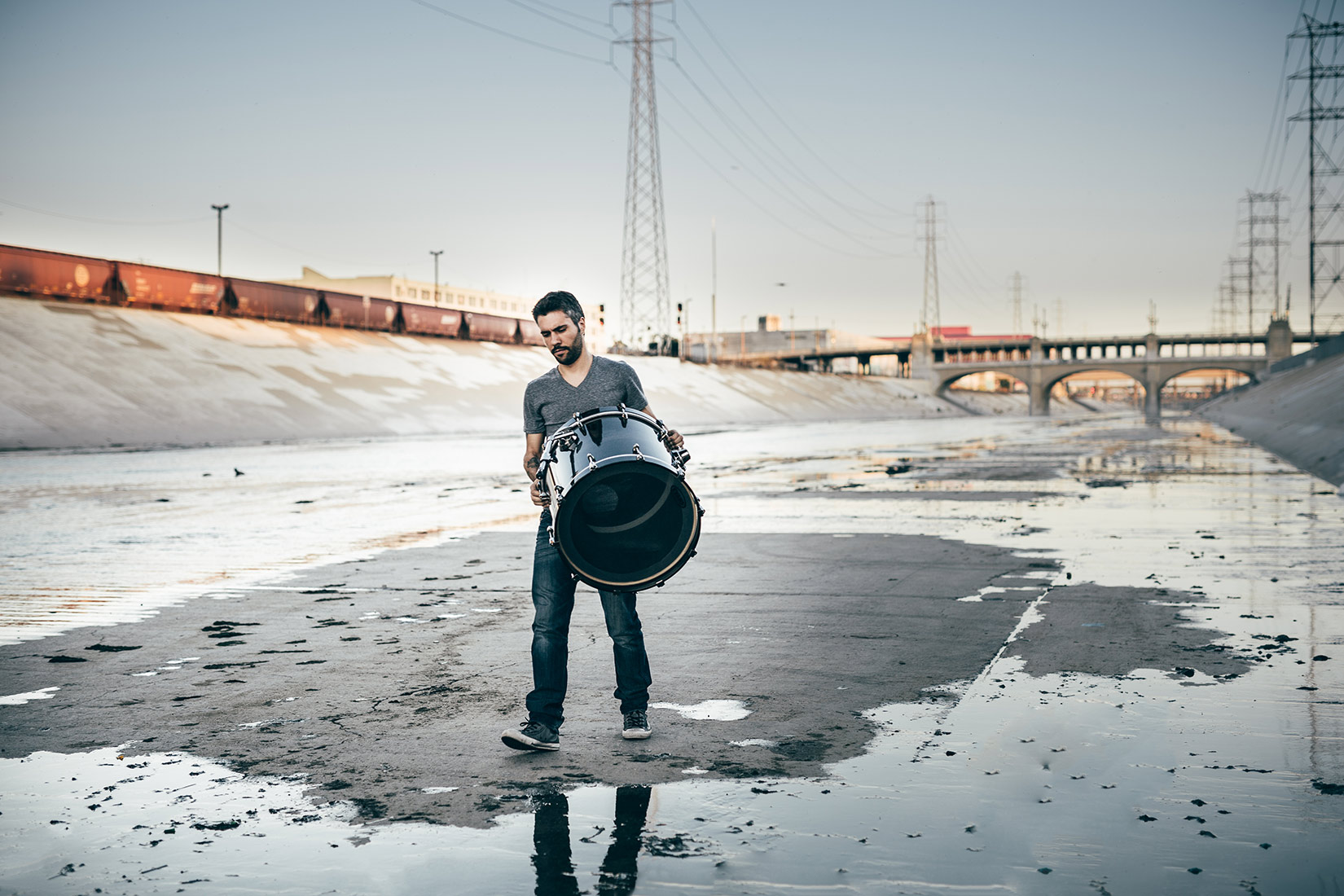 Lifestyle Photographer Los Angeles | Gianluca Palmieri. Italian Drummer