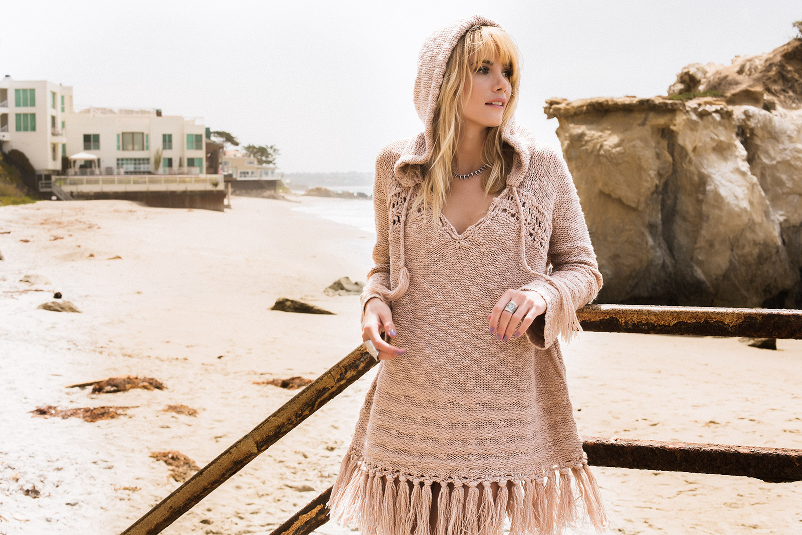 Boho Style at the Malibu Beach. El Matador