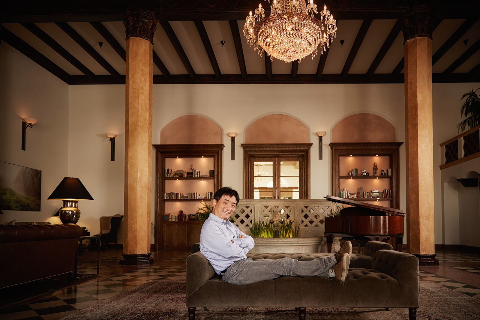 Jingbo Lou. Architect and owner of Normandie Hotel