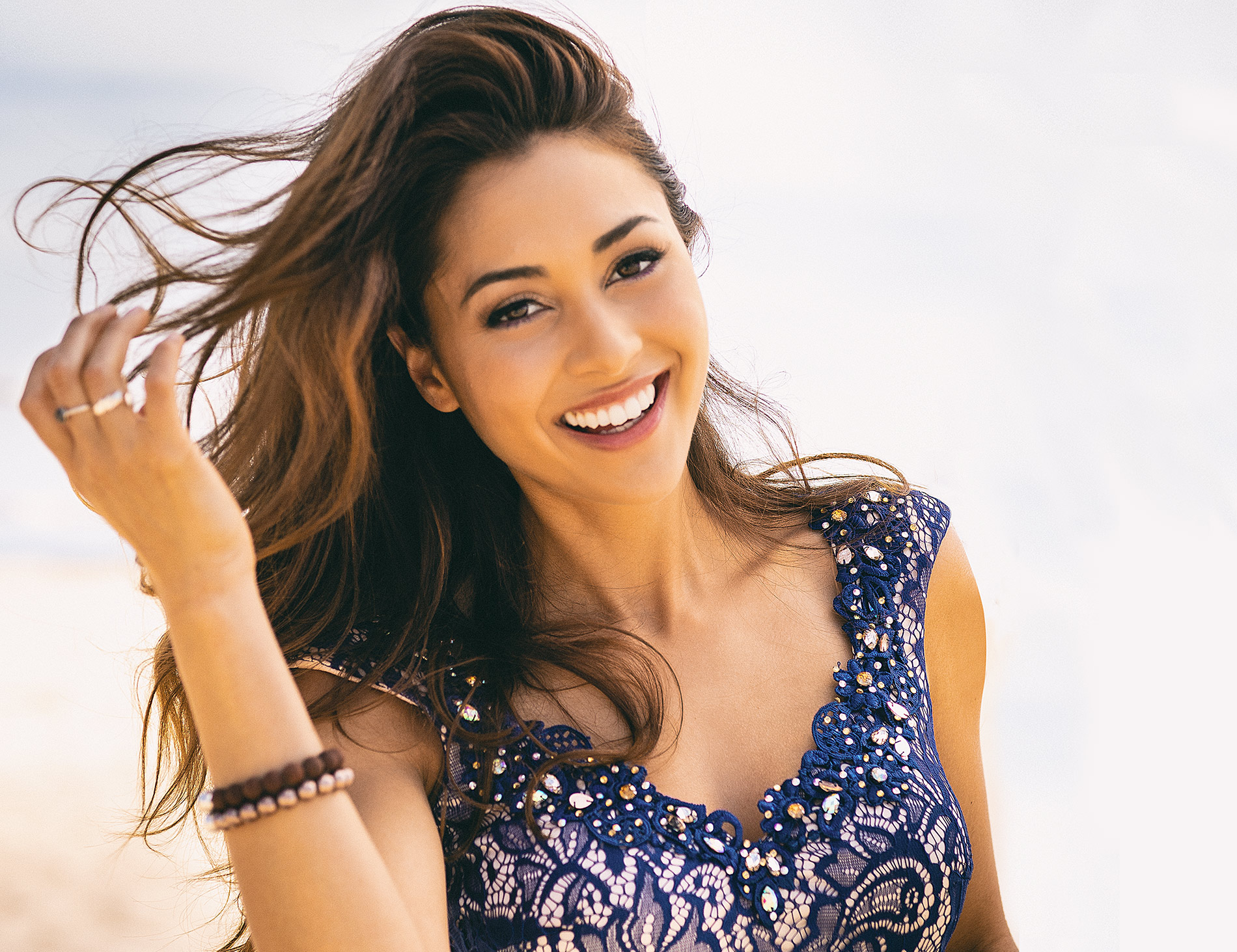 Lindsey Morgan-Actress.  Tv Show 100. Raven Reyes | Photo by Rocco Ceselin