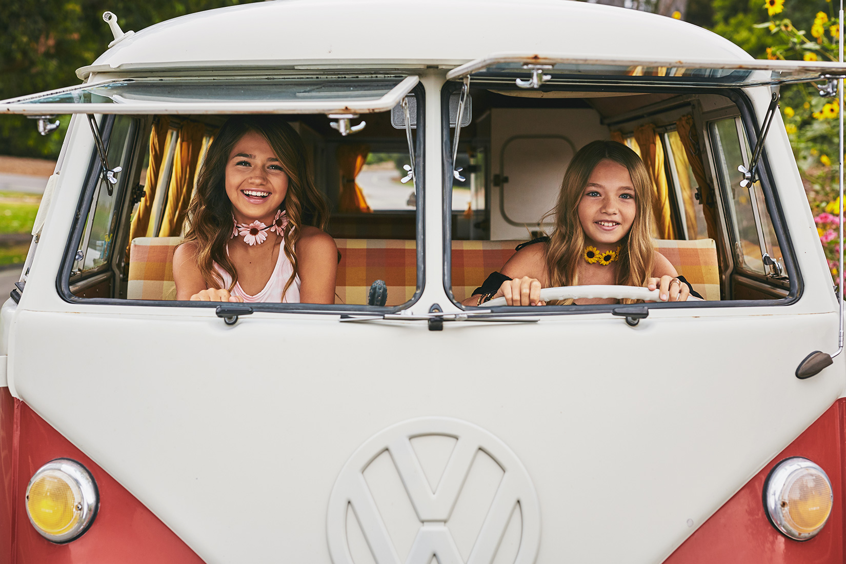 Teen Apparel Lifestyle VW Bus