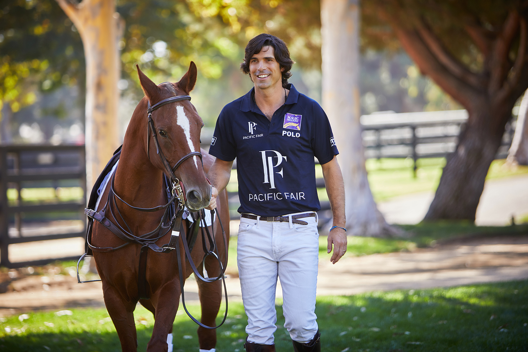 Lifestyle Nacho Figueras Magic Millions. Malibu. By Rocco Ceselin Portrait Photographer Los Angeles