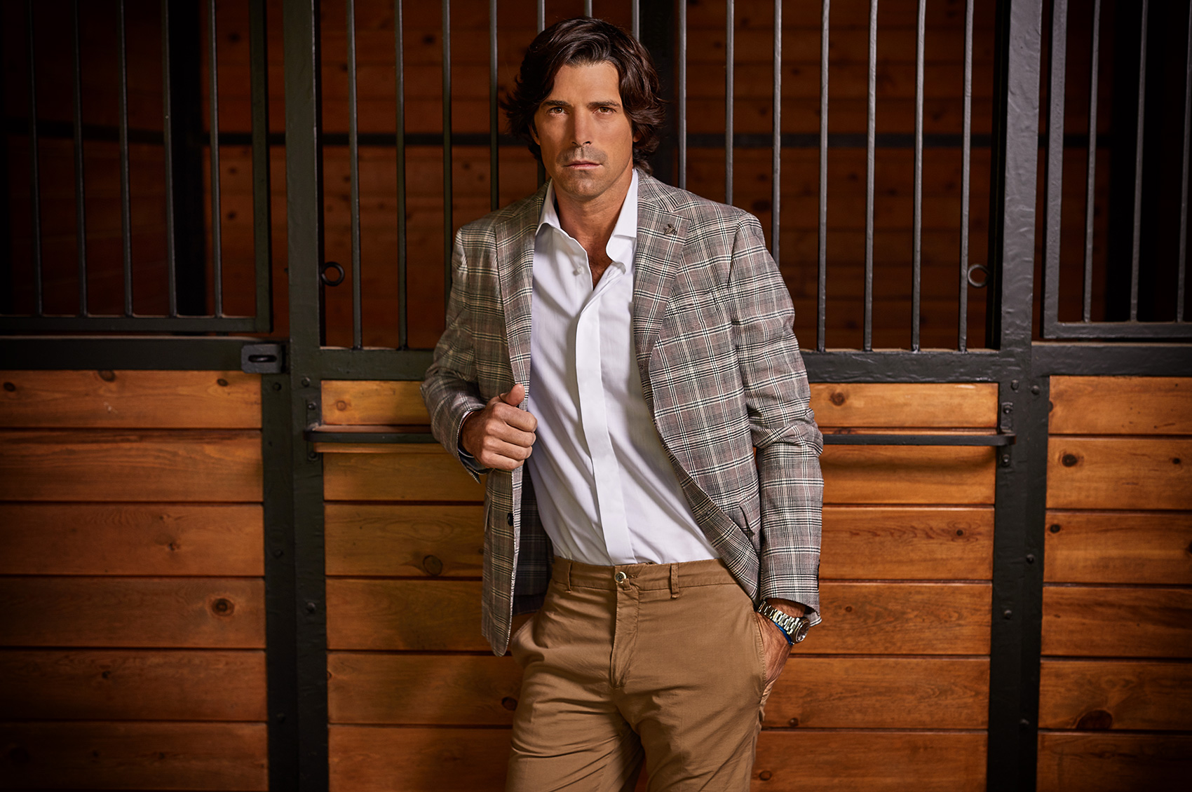 Los Angeles Portrait Photographer. Nacho Figueras. Celebrity Polo Player