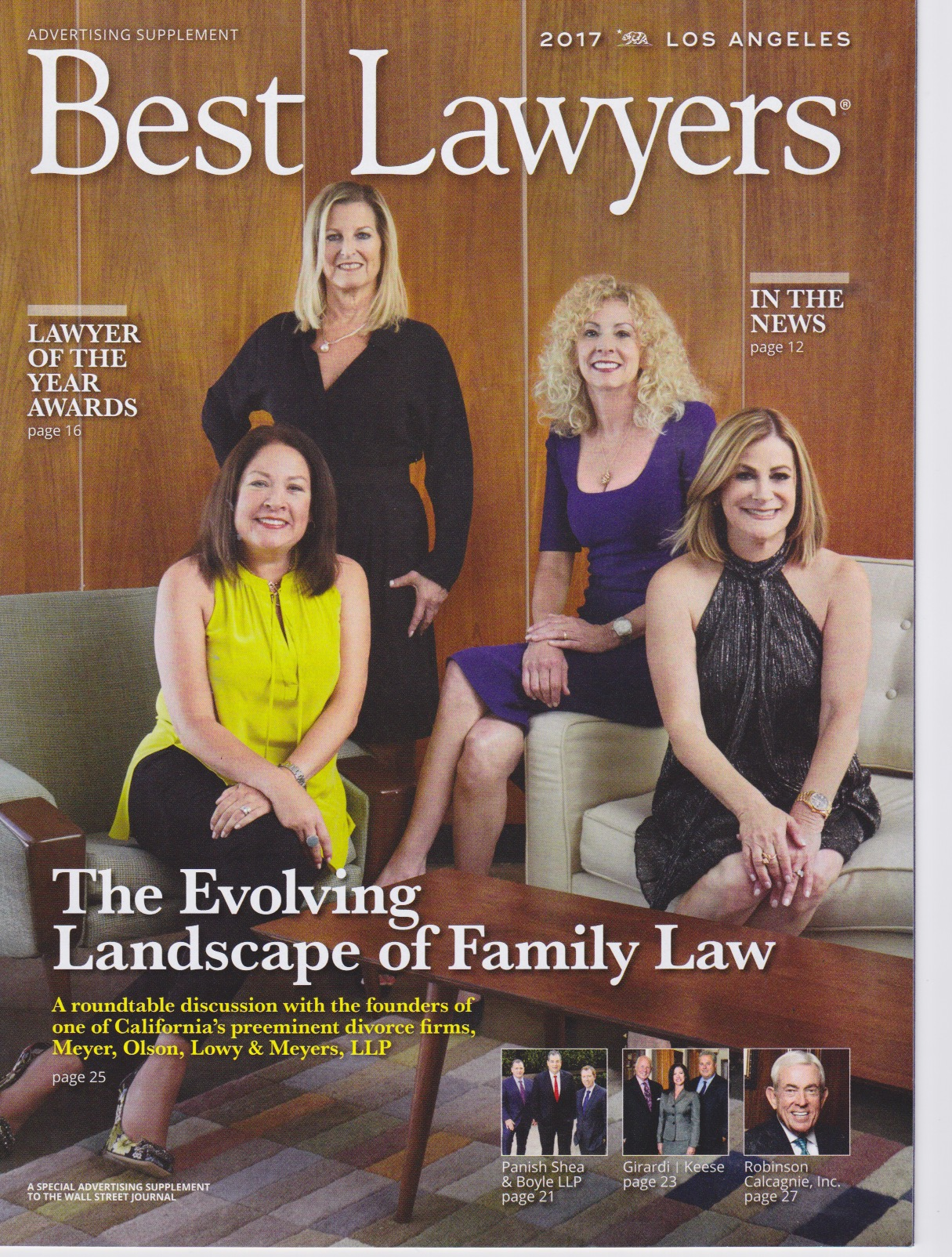 Best Lawyers California Cover