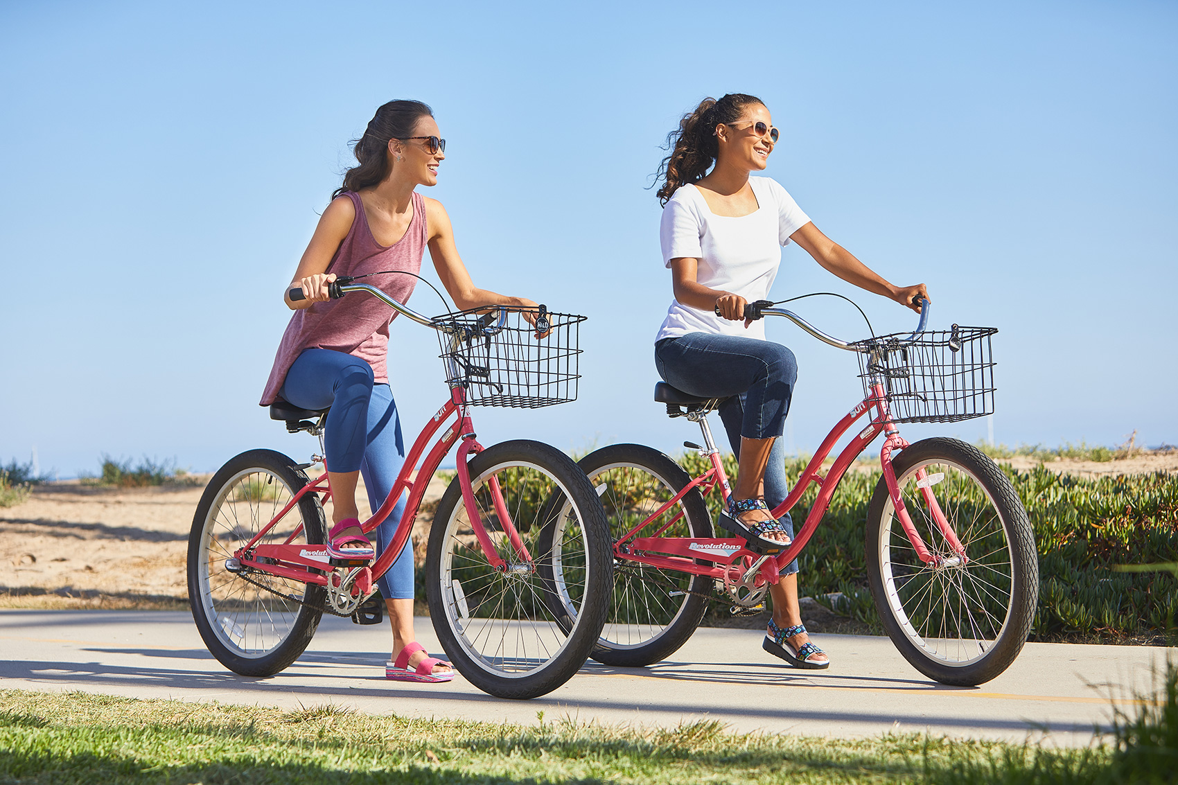 Bike Ride Lifestyle in Santa Barbara with your Best Friend