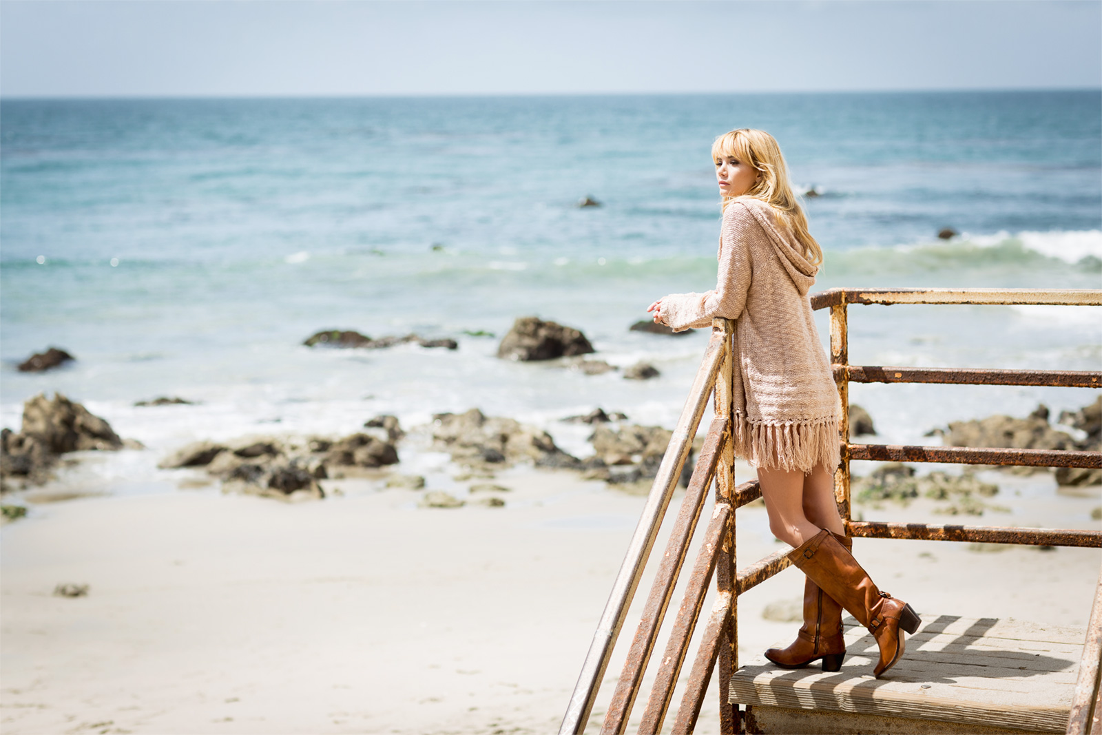 On the Beach, Bohemian Lifestyle / Look Book  - California Moonrise