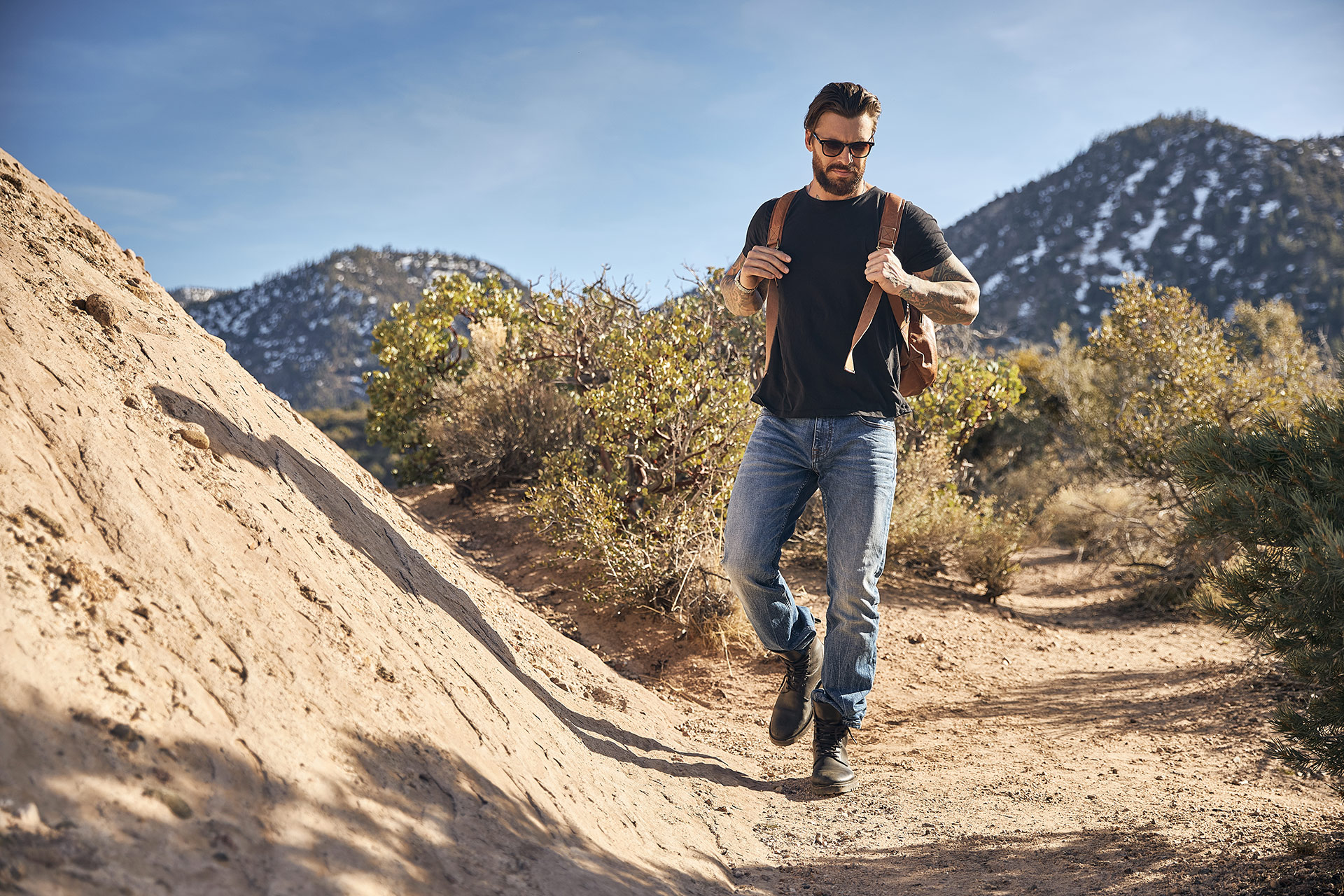 Lifestyle Photographer Los Angeles |Mountain Fashion Men