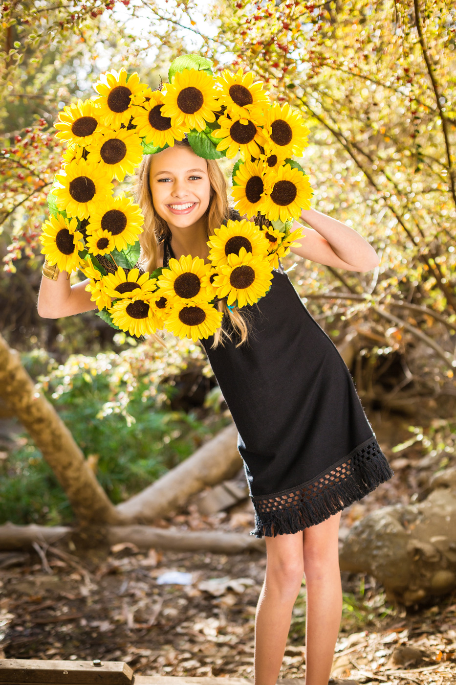A wheel of Sunflower for Spring 2015 Love and Sunflower Apparel