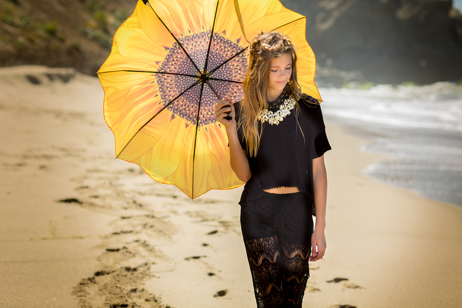 Love & Sunflowers Umbrella
