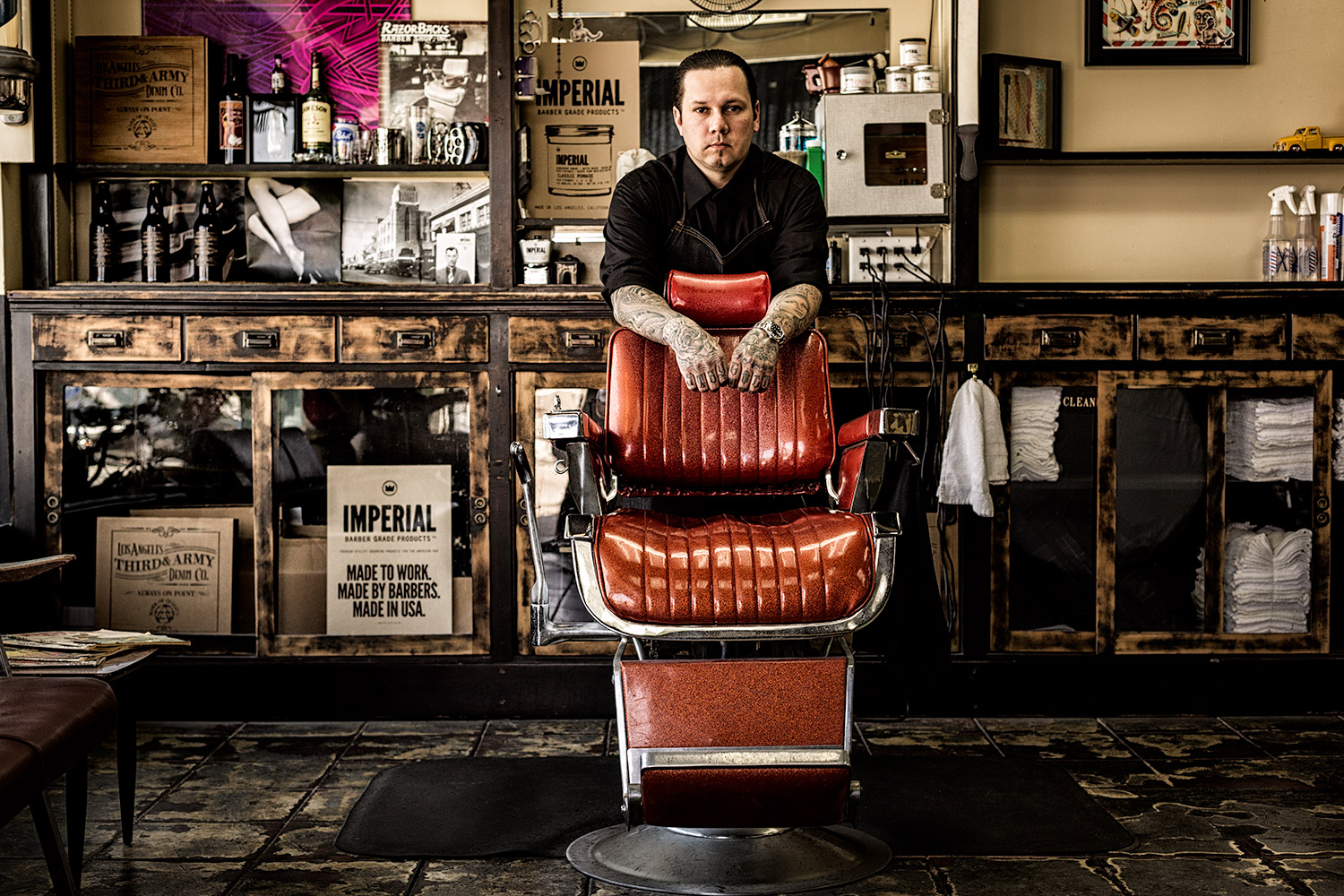 Scott - Razor Backs Barber Shoppe in Long Beach CA
